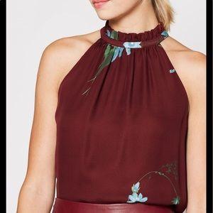 Joie women's Andromache silk floral blouse